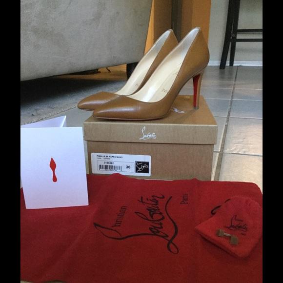 724f402bb3e Louboutin Pigalle 85 Nappa Shiny Size 36